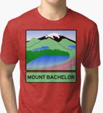Oregon Scenic Byway - Mount Bachelor Tri-blend T-Shirt