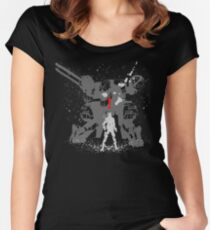 Tshirt The Snake Women's Fitted Scoop T-Shirt