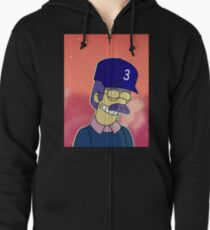 Diddly Book Zipped Hoodie