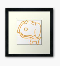 I LOVE MY DOGS_26 Framed Print
