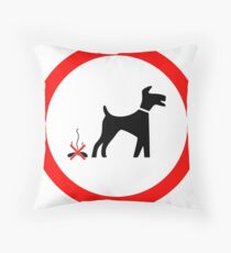 I LOVE MY DOGS_27 Throw Pillow