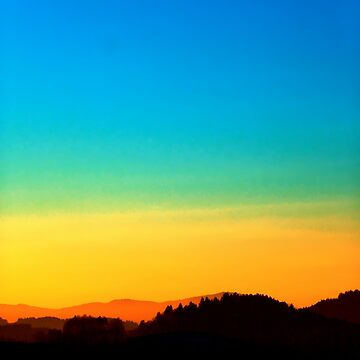Colorful sundown scenic view | landscape photography by patrickjobst