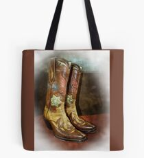 Take A Walk in My Boots Tote Bag