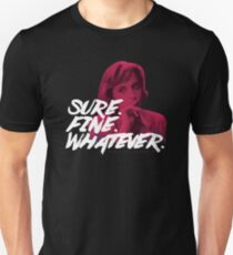 Sure. Fine. Whatever. (Pink) T-Shirt