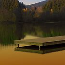 Romantic evening at the lake V | waterscape photography by Patrick Jobst