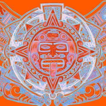 Aztec Sun by supermejias
