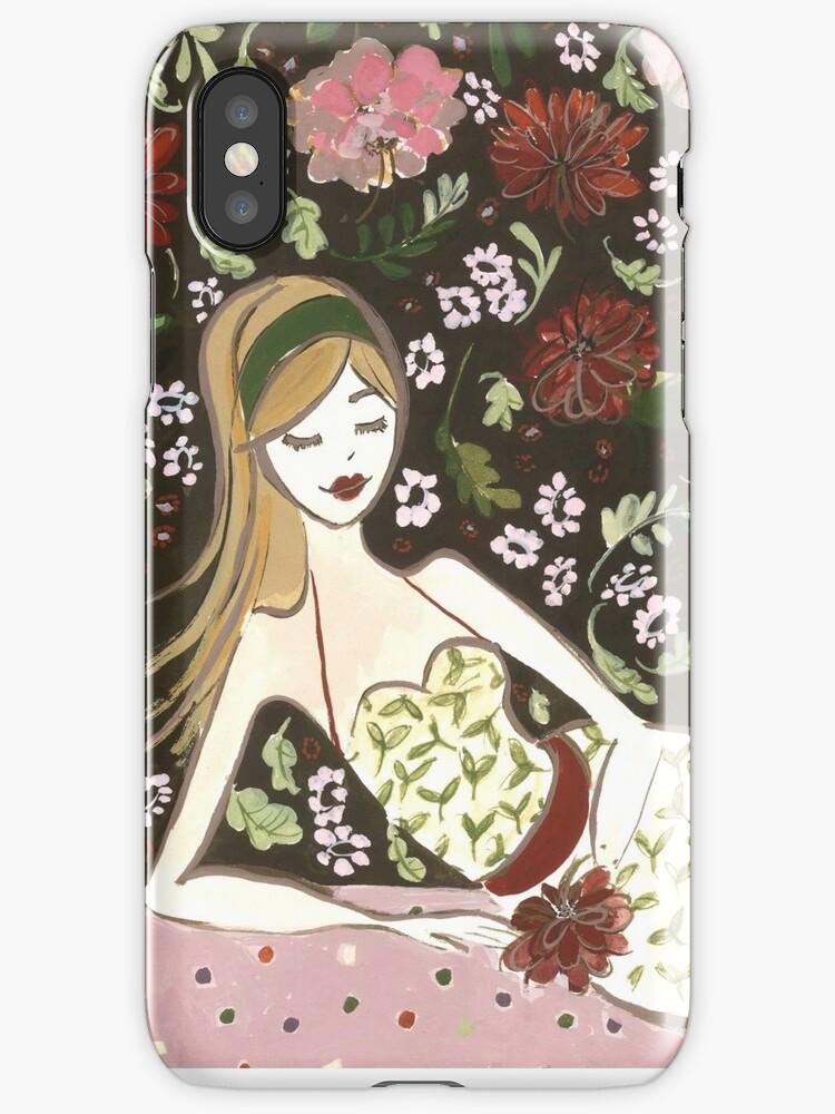 Floral Girl by Anita Ristovski