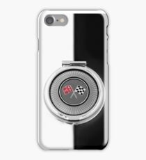 1963 Corvette C2 - fuel door detail iPhone Case/Skin