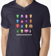 Pixelated Despair Men's V-Neck T-Shirt