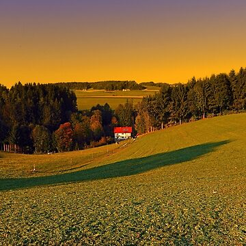 Beautiful sundown in the countryside | landscape photography by patrickjobst