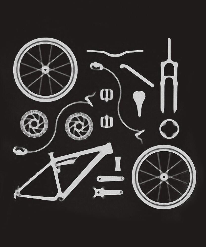 Bike Exploded Parts Full Suspension Airfix By Miminaskan