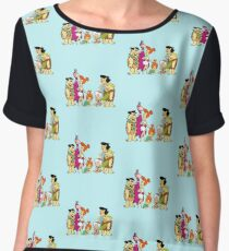 all familly Fred Flintstone Chiffon Top