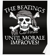BEATINGS MORALE Poster
