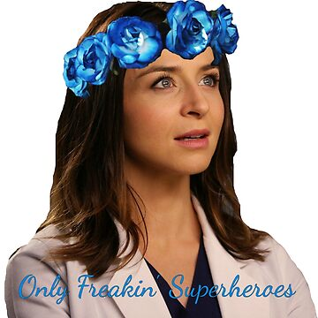 """""""Only Freakin Superheroes"""" - Amelia Shepherd by GreysPlatten"""