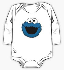 Cookie Monster (3) One Piece - Long Sleeve