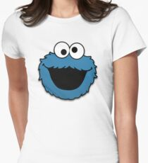 Cookie Monster (3) Womens Fitted T-Shirt