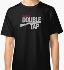 Rule #2: Double Tap Classic T-Shirt