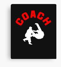 Judo Coach  Canvas Print