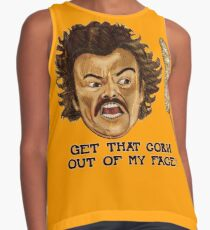 Get That Corn Out Of My Face!! Contrast Tank