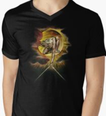 William Blake: The Ancient of Days Men's V-Neck T-Shirt