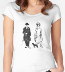Old Timey Folks Women's Fitted Scoop T-Shirt