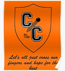 Chudley Cannons Logo with Motto Poster