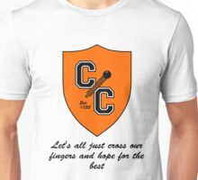 Chudley Cannons Logo with Motto Unisex T-Shirt
