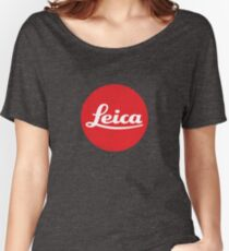 Leica Logo Loose Fit T-Shirt