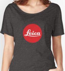 Leica Logo Loose Fit T-Shirt