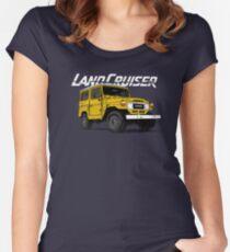 FJ40 land cruiser  Women's Fitted Scoop T-Shirt