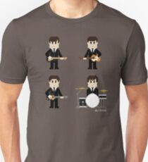 8-Bit Fab Four T-Shirt