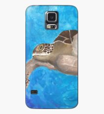 Turtle on an ocean adventure Case/Skin for Samsung Galaxy