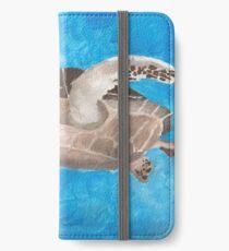 Turtle on an ocean adventure iPhone Wallet/Case/Skin
