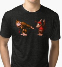 Donkey Kong Country - 5 Low Tri-blend T-Shirt