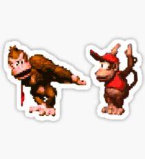 Pegatina Donkey Kong Country - 5 bajo