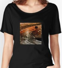 Sunset colours on the beach Women's Relaxed Fit T-Shirt