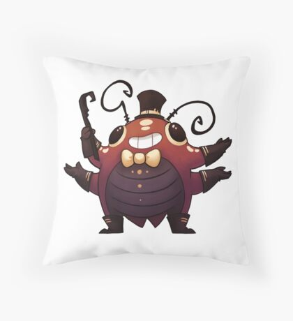 Showbeetle Throw Pillow