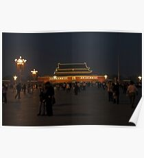 Tiananmen Square Beijing - China 2006 Poster