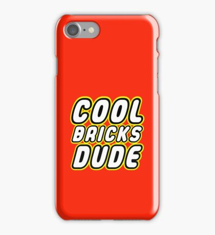 COOL BRICKS DUDE, Customize My Minifig iPhone Case/Skin