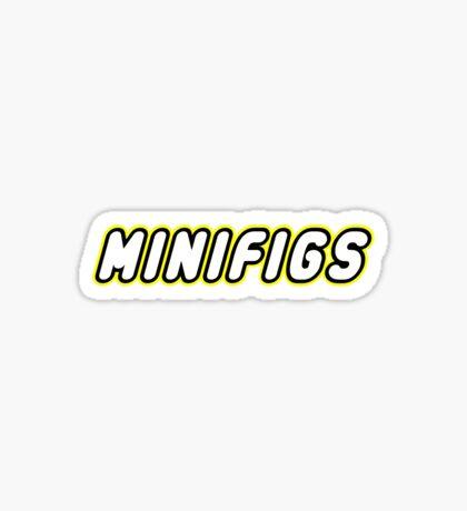 MINIFIGS, Customize My Minifig Sticker