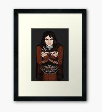 Serana Framed Print