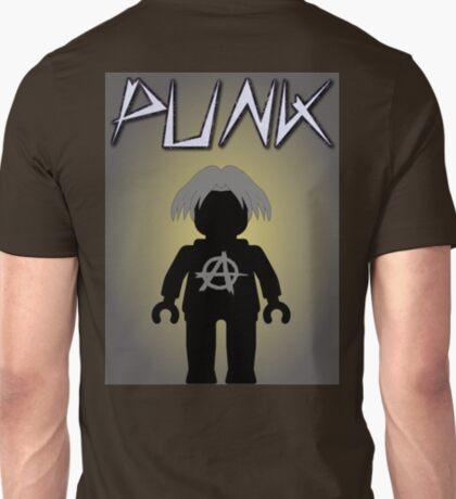 Punk Guitarist Minifig, Customize My Minifig T-Shirt
