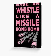 Blackpink - Make'Em Whistle Greeting Card