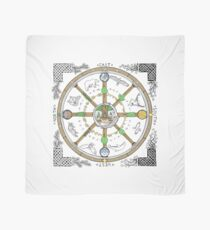 Wheel of the Year - Colour Scarf