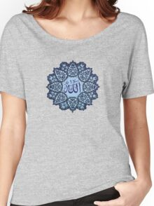 Allah name Ornaments tee design    Women's Relaxed Fit T-Shirt