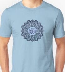 Allah name Ornaments tee design    Unisex T-Shirt