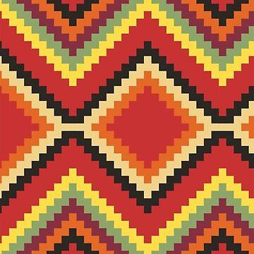 Native American Stitch Pattern by FrodoShields