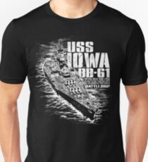 Battleship Iowa T-Shirt
