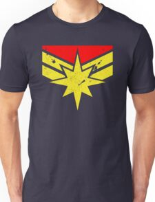 Distressed Super Heroine Unisex T-Shirt