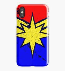 Distressed Super Heroine Case iPhone Case